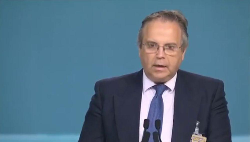 Antonio Miguel Carmona y su comentado discurso en urdu en Londres
