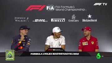 """La conversación de Hamilton, Vettel y Verstappen... con Fernando Alonso como protagonista: """"Creo que nunca le he caído bien"""""""