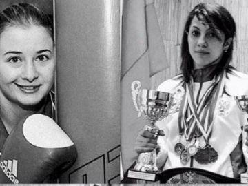 Fatima Zhagupova y Elina Guismeyeva
