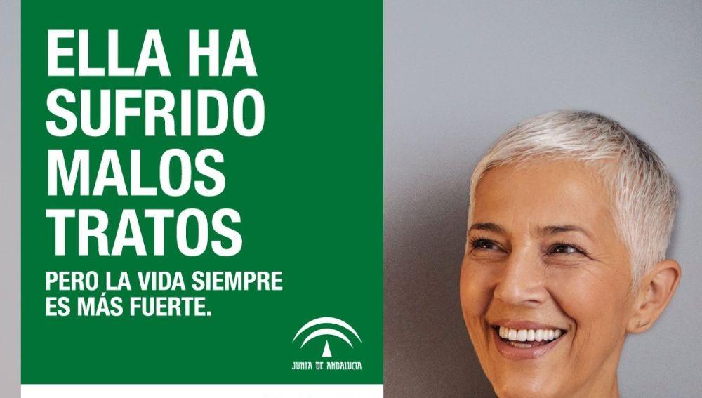Polémica campaña contra la violencia de género de la Junta de Andalucía