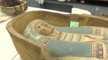 Tutankamón 'sale' de su tumba