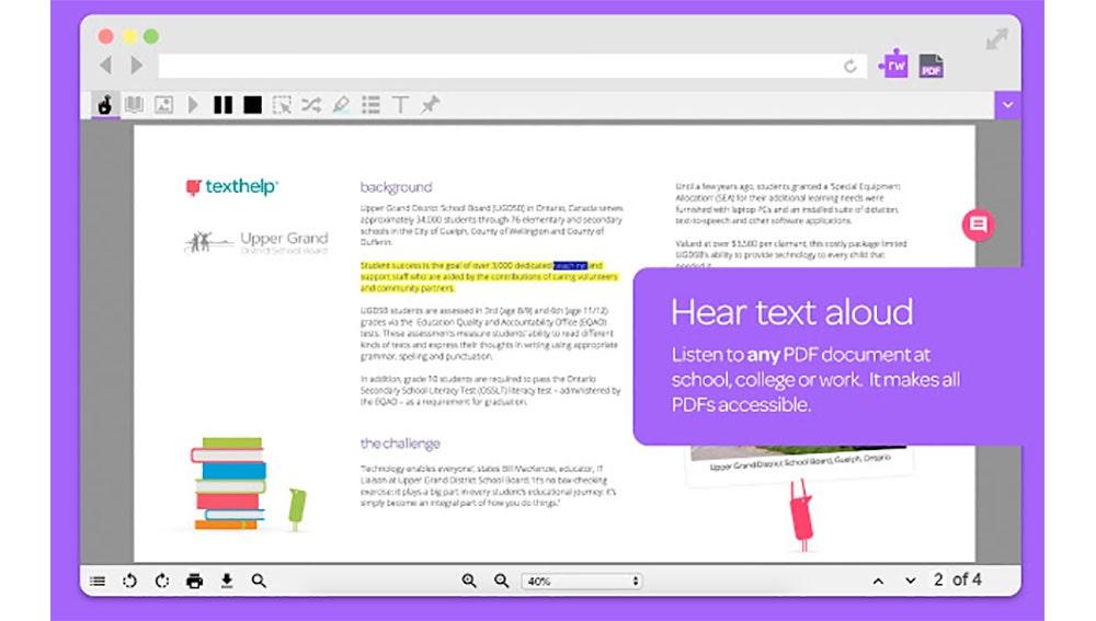 Con esta extensión puedes escuchar los PDF
