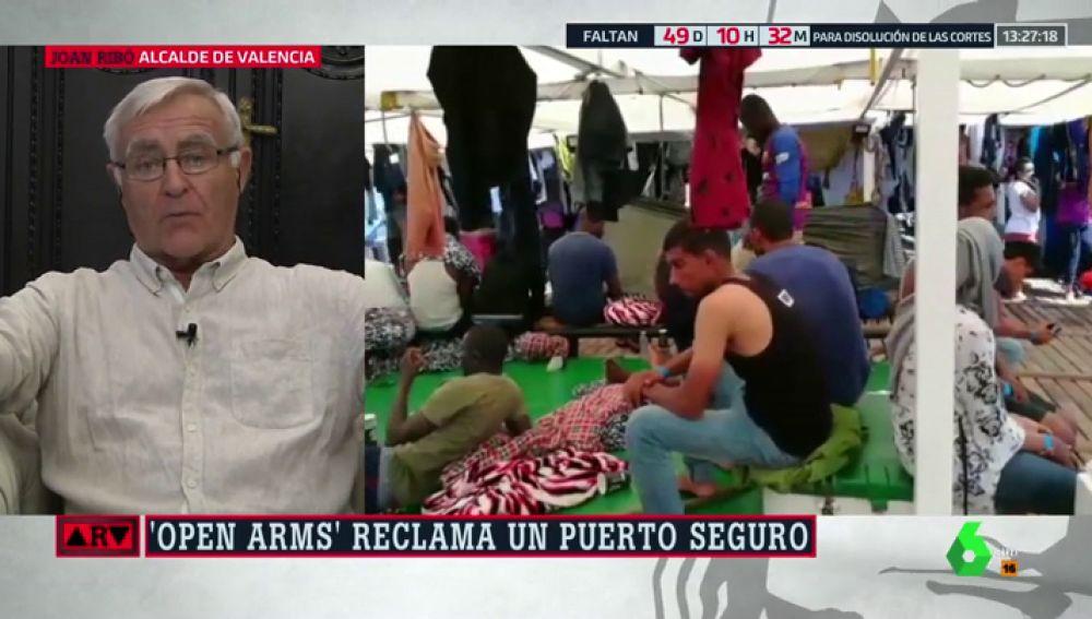 """Joan Ribó: """"En Valencia no queremos que nuestro mar se convierta en un foso de personas"""""""