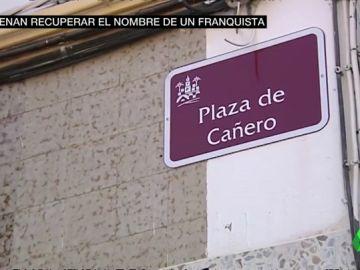 Un juez ordena que una plaza de Córdoba recupere el nombre del militar franquista Antonio Cañero