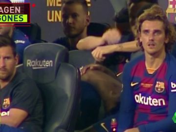 Messi y Griezmann, distantes en el Gamper: ni se cruzaron la mirada