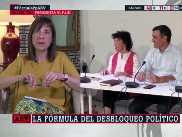 """Anabel Díez: """"Sánchez se porta como un candidato electoral y no como un candidato a la investidura"""""""