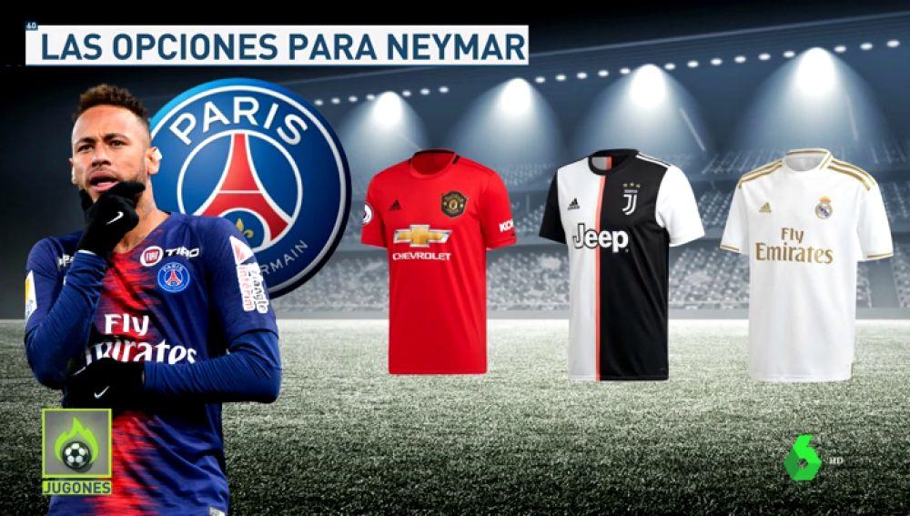 El PSG habría ofrecido a Neymar a Real Madrid, Manchester United y Juventus
