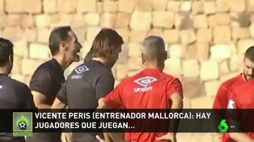 """Vicente Moreno estalla ante la pasividad de sus jugadores: """"Me cago en la p***, ya no aguanto más"""""""