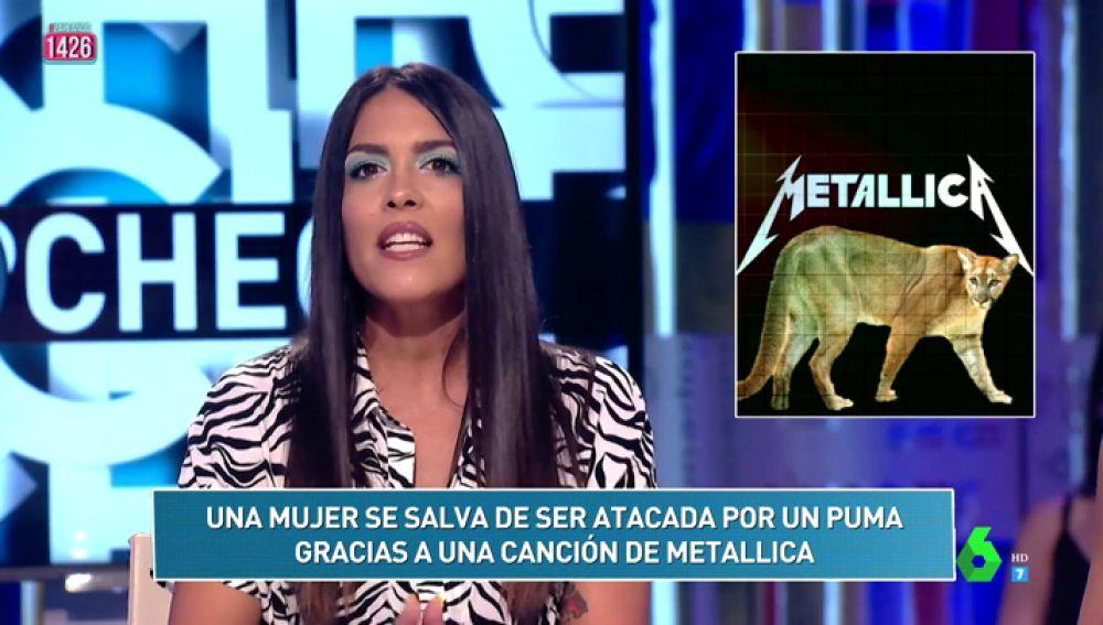 """""""Una mujer se salva de ser atacada por un puma gracias a una canción de metallica"""", uno de los momentazo del 'Zapcheck'"""