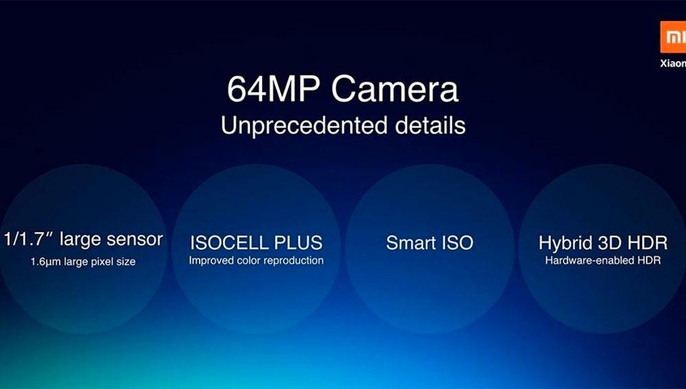 Características del nuevo sensor de 64 megapíxeles