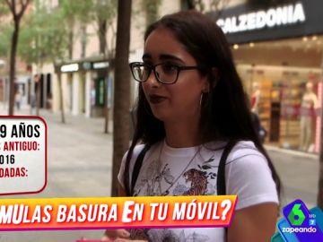 Los españoles cuentan si son ordenados en su teléfono móvil