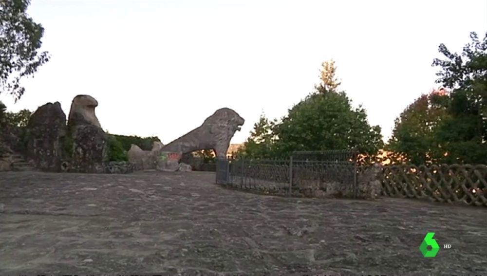El parque del Pasatiempo, tesoro maltratado de Betanzos a punto de desaparecer