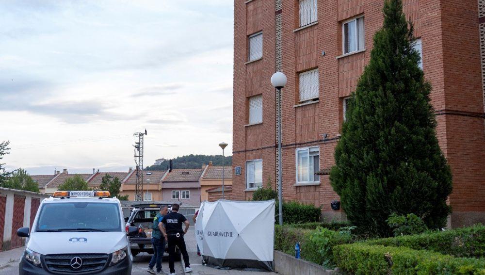 Imagen de la Guardia Civil en Andorra, Teruel