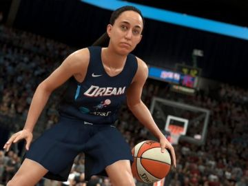 Así se verá a Maite Cazorla en el NBA 2K20