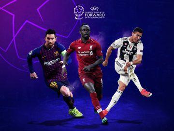Nominados al premio al mejor delantero por la UEFA