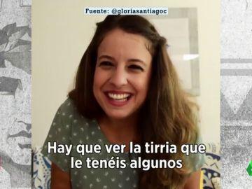 """Gloria Santiago critica al rey Felipe VI tras su pasamanos en Palma: """"¿Tú por quién has sido elegido?"""""""