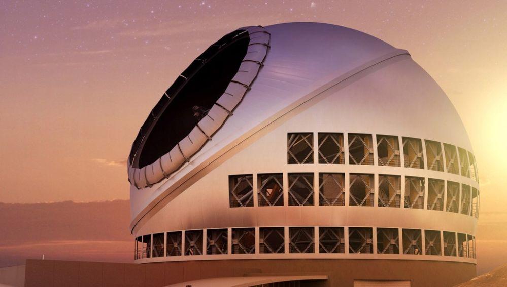 El Telescopio de Treinta Metros un paso mas cerca de La Palma