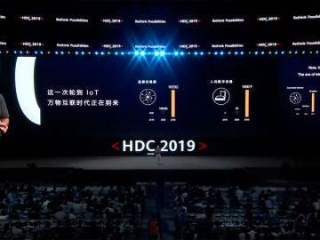 HDC 2019 donde se ha presentado HarmonyOS