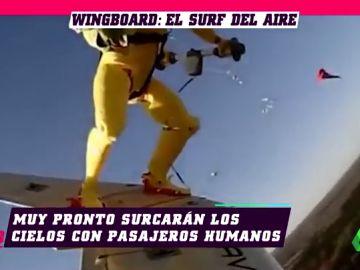Así es el Wingboard, el deporte extremo que surgió de una serie infantil