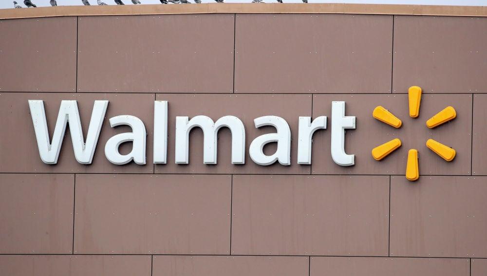El logo de la marca Walmart