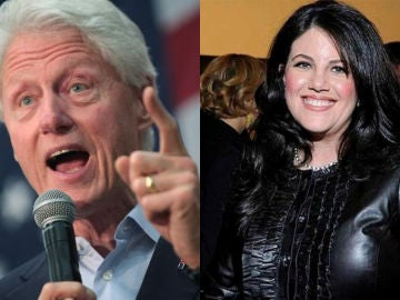 Bill Clinton y Monica Lewinsky