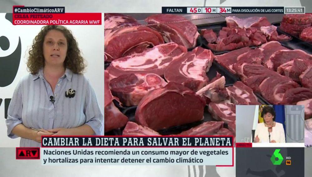 Así afecta el consumo de carne al cambio climático