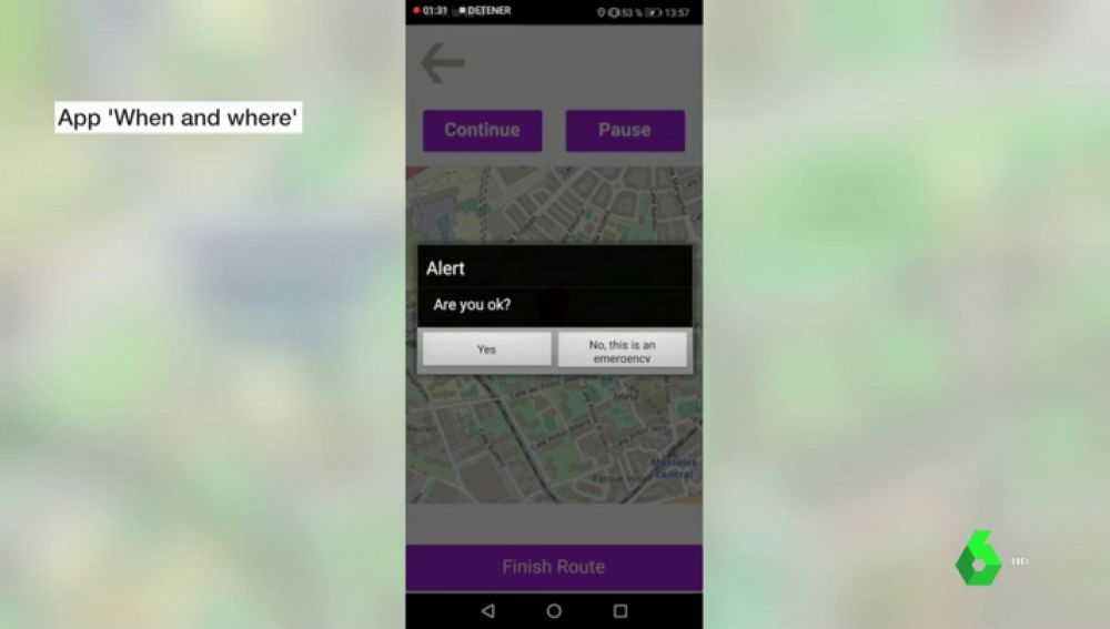 'When and where', la 'app' creada por adolescentes para que las mujeres vuelvan a casa sin miedo