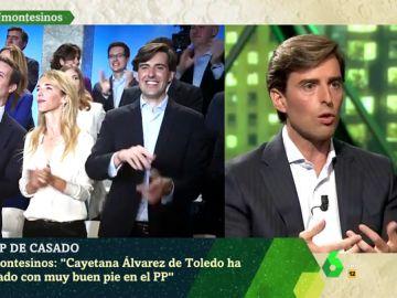 """Pablo Montesinos defiende la renovación del PP de Casado: """"Estoy encantado con Álvarez de Toledo"""""""