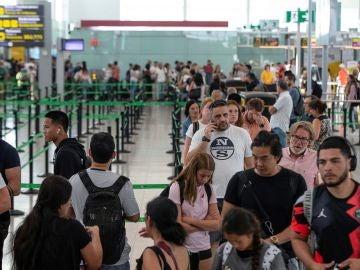 El aeropuerto de Barcelona afronta la segunda jornada de Huelga de los trabajadores de Trablisa