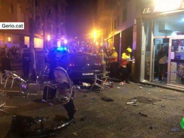 Una niña de cinco años en estado grave y otros nueve heridos tras un atropello múltiple en Girona