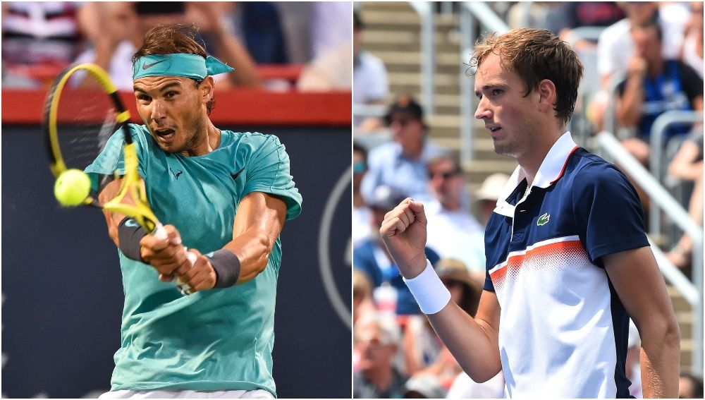 Rafa Nadal vs Daniil Medvedev, final del Masters 1.000 de Montreal
