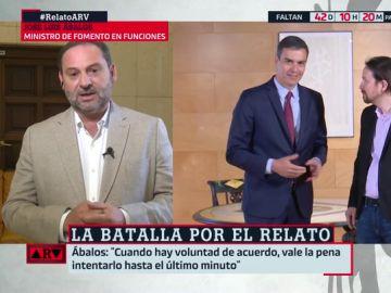 """José Luis Ábalos responde a Echenique: """"Sus declaraciones son poco respetuosas y no llevan a la confianza"""""""