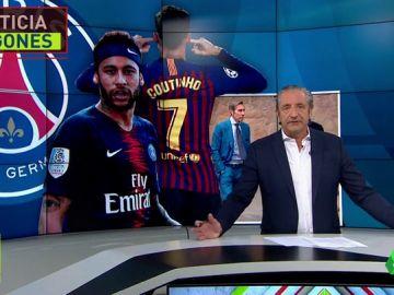 Neymar, más cerca que nunca del Barça