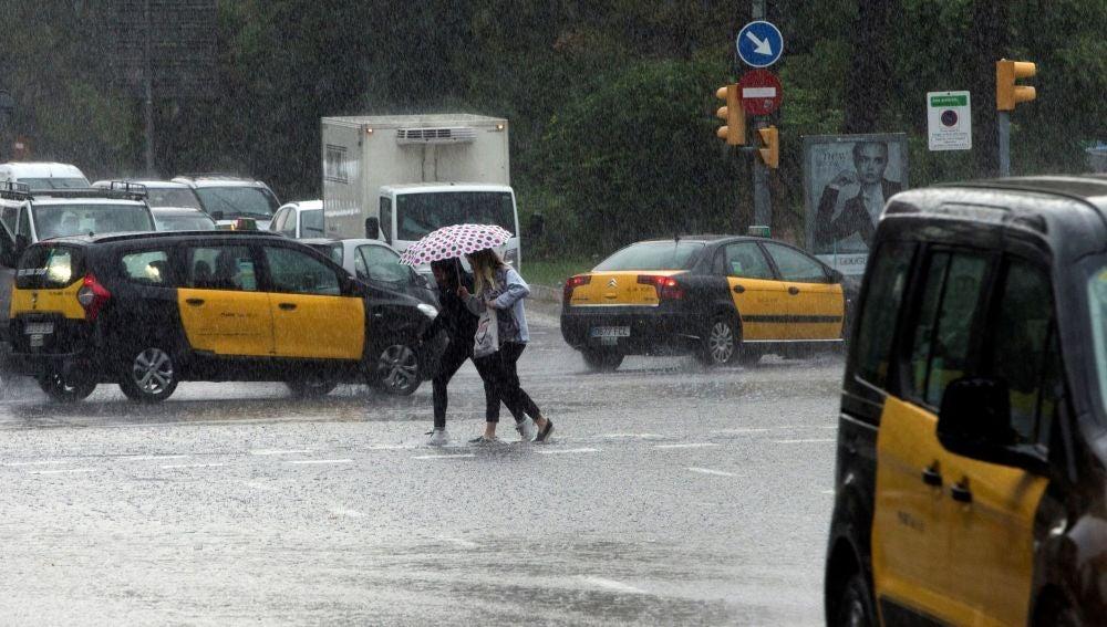 Lluvias en Cataluña