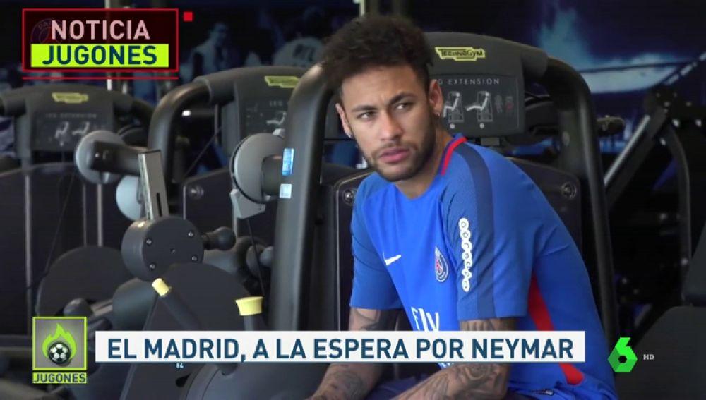 El Madrid no descarta el fichaje de Neymar pero esperará