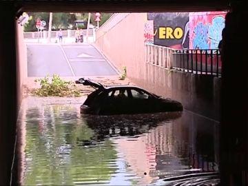 Graves destrozos que dejan las inundaciones en Cataluña