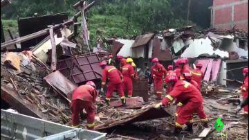Los estragos del tifón Lekima: 32 muertos y cinco millones de afectados a su paso por China