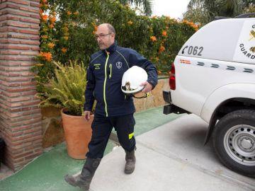 Julián Moreno, jefe de bomberos al frente del rescate de Julen