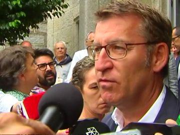 """Feijóo defiende la gestión de Moreno Bonilla en la crisis de la listeria: """"Tiene derecho a estar fuera de su despacho"""""""