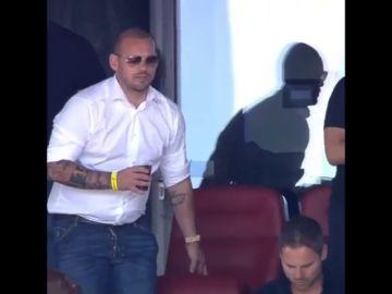 Sorprendente cambio físico de Wesley Sneijder dos semanas después de su retirada