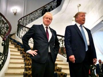 Boris Johnson y Donald Trump