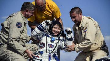 Anne McClain, la astronauta que podría haber cometido el primer delito desde el espacio