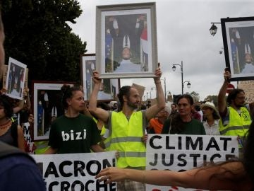 Protestas contra la cumbre del G7