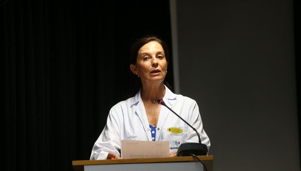 La gerente territorial del grupo de hospitales Quirón en Madrid, la doctora Lucía Alonso