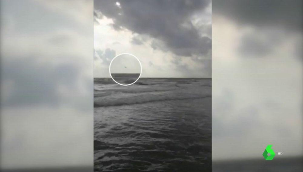 Muere el piloto del avión del Ejército que cayó al mar en La Manga