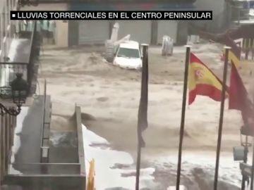 Alerta en la Comunidad de Madrid por las fuertes tormentas: estas son las impactantes imágenes que está dejando la lluvia