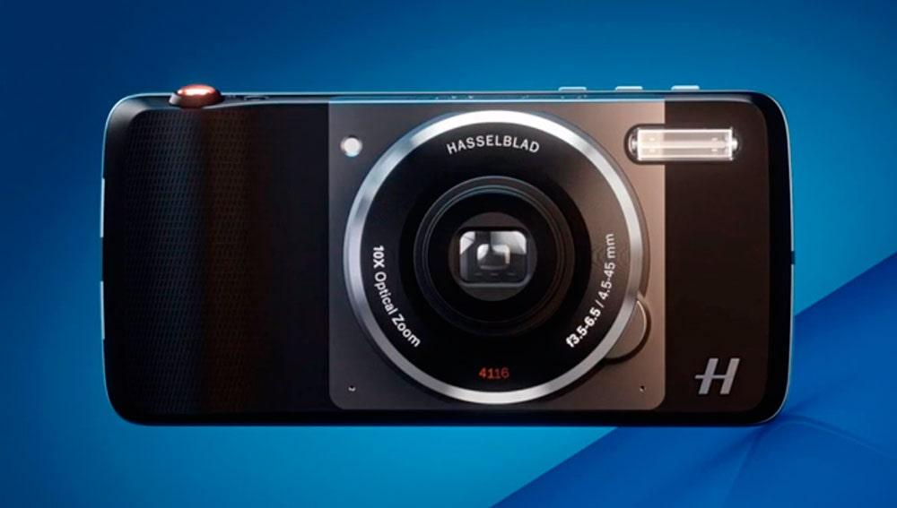 EL Moto Mod de cámara de fotos Hasselblad