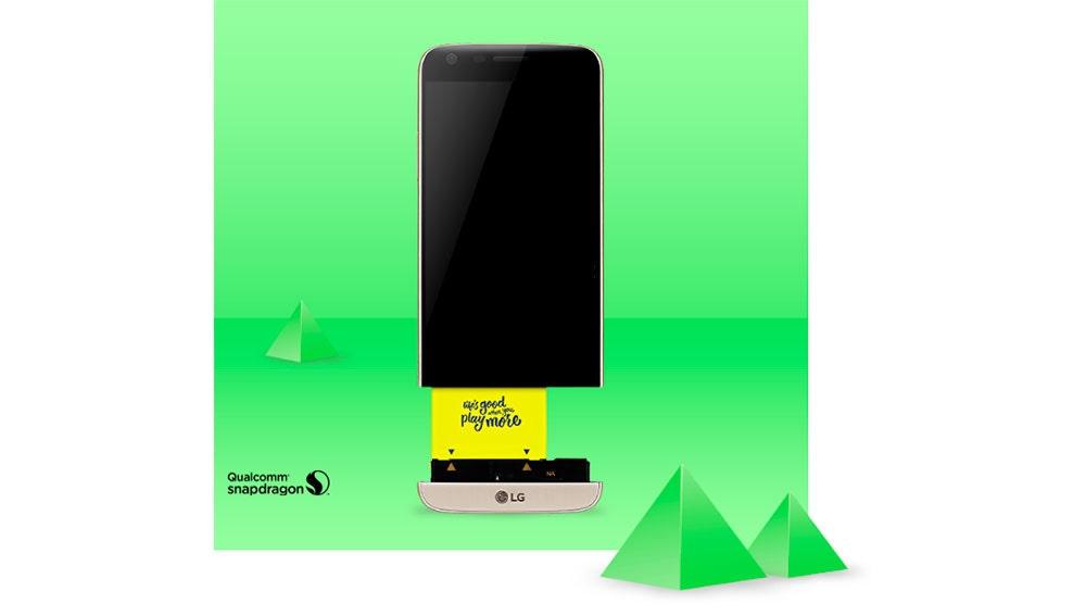 El LG G5 con su mod de batería