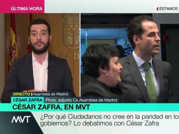 """Zafra defiende las declaraciones de Aguado sobre """"pajines"""" y """"aídos"""": """"Ellas son ejemplo de lo que no hay que hacer"""""""