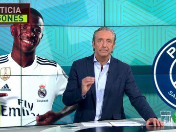 El PSG insiste con Vinicius